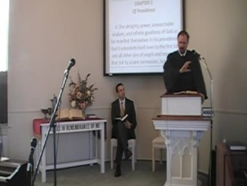 """Divine Providence and Evil,"" WCF 5:4 Rev. R. Scott MacLaren, First OPC Perkasie PA"