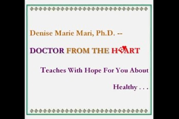 Dr Denise Mari Teaches About Healthy Anger