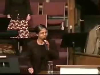 Former hindu sister confessing Christ