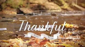 Being Thankful Church Mini-Movie - Oneness Videos