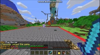 Minecraft PVP on lordsworldPVP DEATH BY STRENGTH POTION