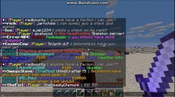 Minecraft PVP randomness on lordsworldPVP