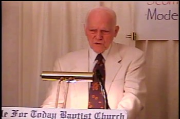 The Glory of God  -- Acts 7:52-60   – Midweek Service  – Pastor D. A. Waite – BFTBC