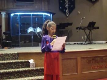 Glory age 9 Spoken Word