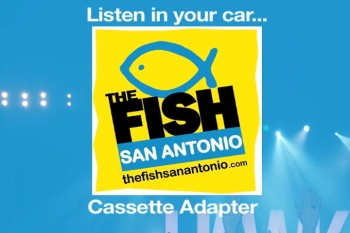 Listen to The Fish San Antonio in your car via cassette adapter