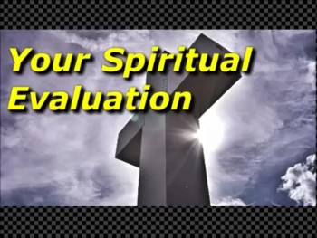 Your Spiritual Evaluation - Randy Winemiller