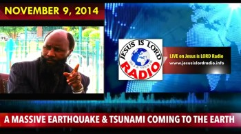 A Massive Earthquake and a Tsunami is Coming! Rapture Soon! - Dr David Owuor