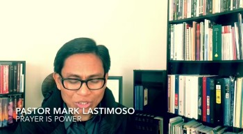 Mark Lastimoso Prayer: Not Be Anxious