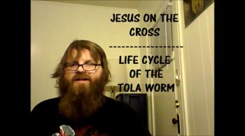 JESUS IS A WORM