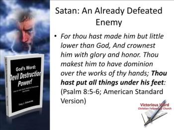 God's Word: Devil Destruction Power (Part 4)