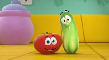 CrosswalkMovies.com: Special Thanks from Bob and Larry from VeggieTales in the House!