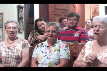Aniversario da mamae Rosinha.Oracao