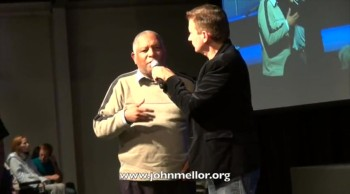 Vision healed and no more reading glasses - John Mellor Healing Ministry