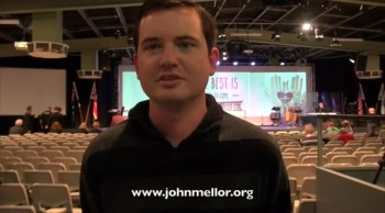 Painful ulcer and bowel miracle healing - John Mellor Australian Healing Evangelist