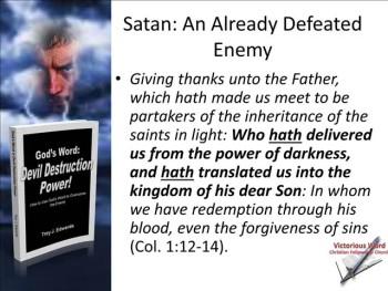God's Word: Devil Destruction Power (Part 5)