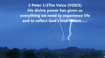 Jesus's divine power
