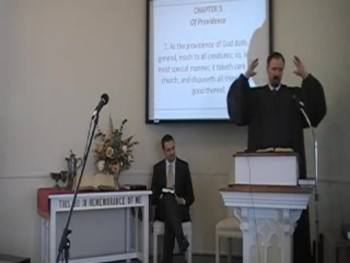 """Providence and the Church,"" WCF 5:7, Rev. R. Scott MacLaren First OPC Perkasie PA"