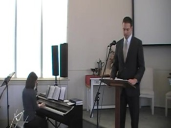 Special Thanksgiving Service, 11/23/2014, First OPC Perkasie PA