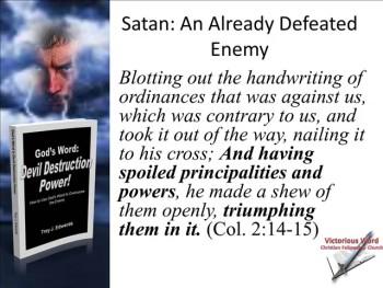 God's Word: Devil Destruction Power (Part 6)