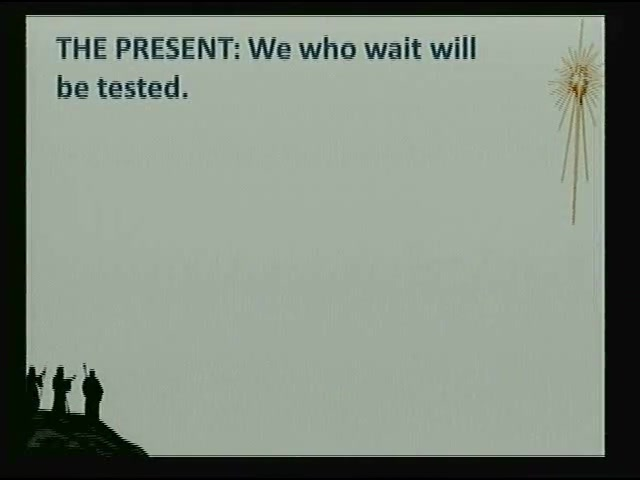 Ascension Lutheran Church Sermon - Be Prepared - 30 Nov 20014