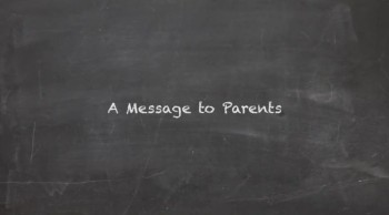 Parents, PLEASE do not miss this message!