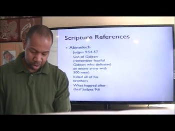 The Bible and the Armor Bearer