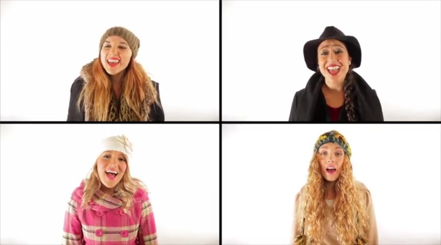 A Capella Christmas Mashup - 1 Girl Nation
