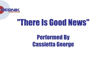 Cassietta George- There Is Good News