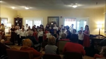Calvary Temple Kids Perform