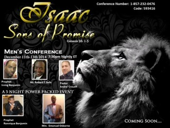 """Isaac Sons Of Promise"" Men's Conference Night 2"