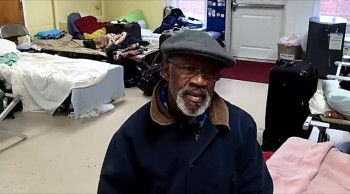 Tony,Visits Homeless Men At Methodist church