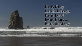 New Christmas Song:  Jesus Jesus, Born of Mary