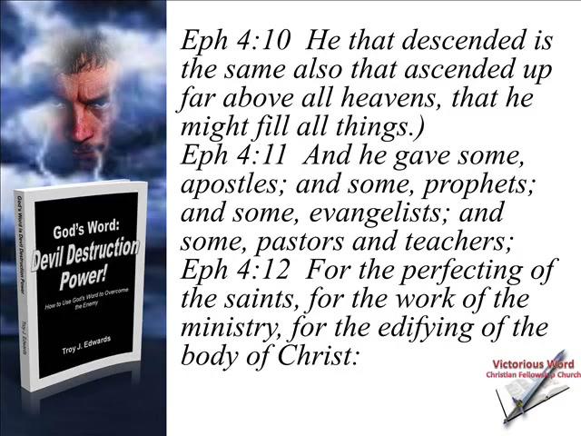 God's Word: Devil Destruction Power (Part 8)