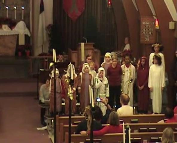 Martin Luther Chapel - December 24, 2014