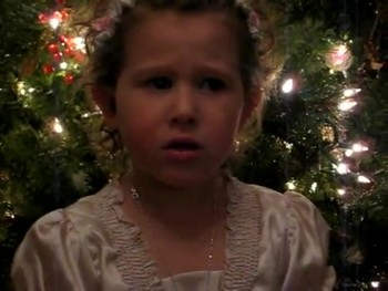 Too Cute!!! Elora sings 'Silent Night' 2009