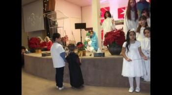 Christmas service 2014