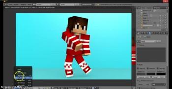 How to make a minecraft render!
