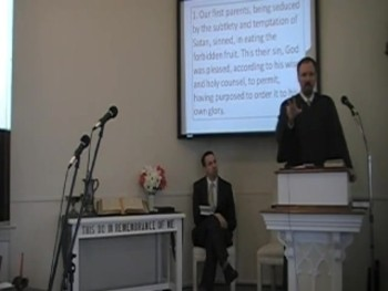 """The Personal, Subtle Satan,"" WCF 6:1; Rev. R. Scott MacLaren 12/28/2014"