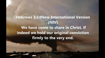 We have come to share in Christ, if