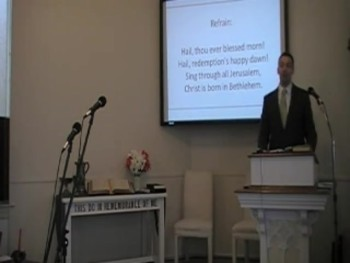 """Coming of Age,"" Luke 2:41-52. Pastor MacLaren, First OPC Perkasie PA"