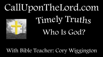 Who Is God? - Timely Truths