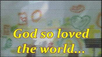 God So Loved The World (Sonic Stained Glass Window Clip)