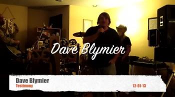 Dave Blymier testimony - 12 01 13