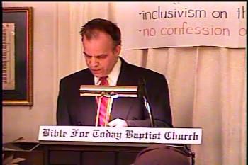 Part 2 -- Everlasting Life  – John 3:1-36 -- John Bible Study  – Daniel S. Waite – BFTBC   On Tuesday, January 20,  2015, Pastor Daniel S. Waite discussed John 3:1-36 at the Genesis Bible Study of the BFTBC of Collingswood