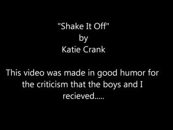 """Shake It Off""....for those who hate my parenting...lol"