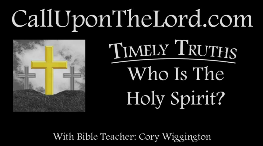 Who Is the Holy Spirit - Timely Truths