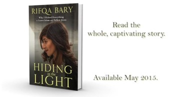 Hiding In the Light by Rifqa Bary
