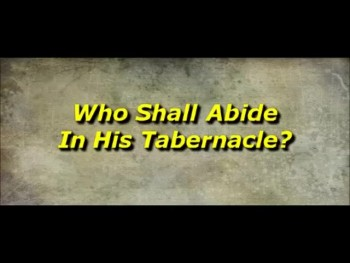 Who Shall Abide In His Tabernacle? - Randy Winemiller