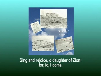 """Sing and Rejoice"" Song sample from ""Ride On!"" CD Part 2"