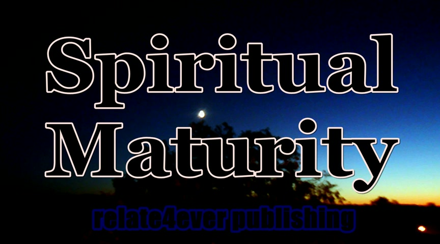 Spiritual Maturity Book Interview
